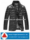 Winter New Fashion comfortable men coat shiny padding jacket 2014