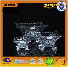 2015 Hot selling cheapest 7 pcs set glass plate/glassware/dinner ware/tableware