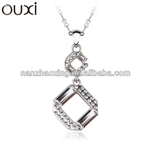 OUXI 2015 wholesale cheap custom made jewelry made with Swarovski elements 10927