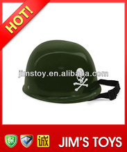 Hot selling adults men safety helmet head safety cap with skull logo soldier hat