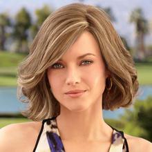 Fashionable Europe Women Cheap Human Hair Wig Lace Front