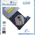 100% original blue ray grabadora uj-240 sata trayloading 12.7mm para pavilion dv6 portátil