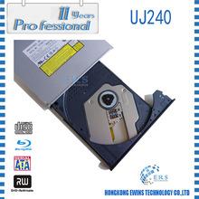 100% Original blue ray recorder uj-240 SATA trayloading 12.7mm for Pavilion dv6 laptop