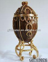 metal egg shape home decoration items