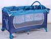 Baby Folding Crib Bed Playpen Baby Travel cot with toys