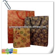 China CMYK Kraft Paper Shopping Bag Printing