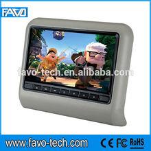 "Digital Panel 9"" car headrest dvd"