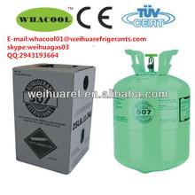 jinhua weihua r507 refrigerante de gaz pour la vente chaude