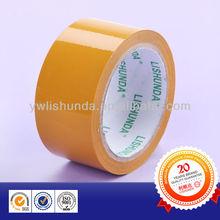 Tan/Yellow Color Bopp Self adhesive Packing tape
