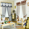 Luxury chinese different styles of jacquard blackout curtains