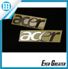 Custom computer sticker electroformed sticker metal electroforming sticker nickel labels brass labels