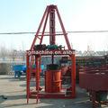 Vertical de tubos de concreto que faz a máquina, máquina para fazer a tubulação de concreto, cimento tubulação que faz a máquina
