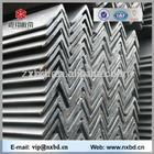Hr tensile strength of mild steel standard size q235 angle bar