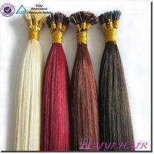 AAAAA Grade Malaysian Hair Extension Keratin Hair Virgin Hair Bond