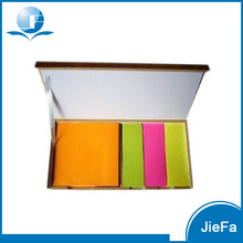 Promotional Colorful Sticky Note Pads with Case