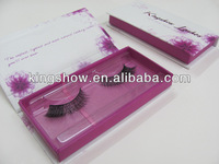Top seller real siberian mink eyelashes natural style with beautiful custom packaging
