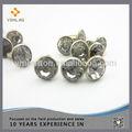7mm decorativos de la moda de cristal redondo del remache