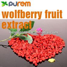 100% Natural wolfberry extract powder,Lycium barbarum goji berry extract,polysaccharides