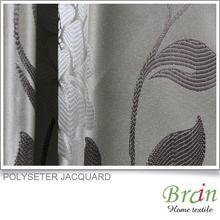 quadrille modern style polyester tree design curtain fabrics
