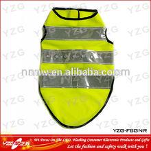 2014 new design reflective Led dog vest for puppy
