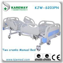 PP guard rails two cranks care beds