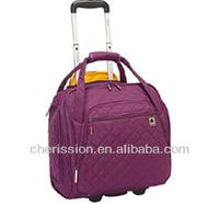 lady travel trolley luggage bag
