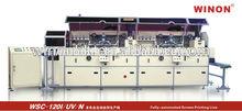 Winon wsc-120 I/UV/n tam otomatik yüksek hızlı çoklu baskı makinesi uv