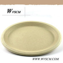 compostable Party paper pulp tableware
