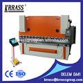 Utilizado máquina de dobrar chapa, 100t/4000 metal freio da imprensa chapa com da41 controlador, 2 eixo máquina de dobramento automático