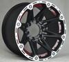 fashion suv 4x4 rims alloy wheel 17inch 4x4 6 holes 6x139.7 wheel rim china