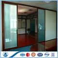 preço e fotos de alumium de correr de vidro divisórias porta