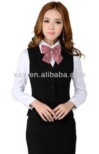 Fashion uniform hotel front office/formal office dresses for women/ladies office wear dresses dress