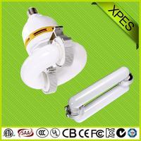 New Product MIC special module design induction lamp clear glass 3u 4u 9w e27 cfl bulb energy saving le