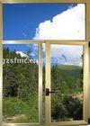 modern double casement window grill design