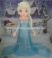 2014 adulto su misura Elsa principessa costume