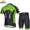 2014 New Cheji Cycling Clothing short sleeve jersey shorts set wholesale For Men High Performance Fabric Milk Fiber sports Wear