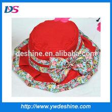 wholesale 2014 lace bucket floppy hat MZ381