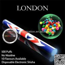 Disposable e shisha 500puffs, king disposable e hookah electronic eshisha pen,not rechargeable e hookah mini e hookah