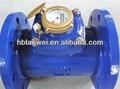 Horizontal rueda de la paleta, Seco - fría ( caliente ) woltman medidor de agua