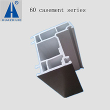 60 series plastic vinyl pvcu window frame