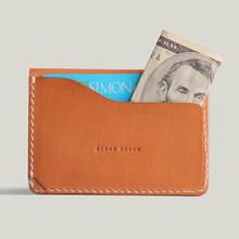 100% Italian leather men wallet genuine credit card holder