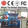 automatic rubber powder line/rubber shredded machine
