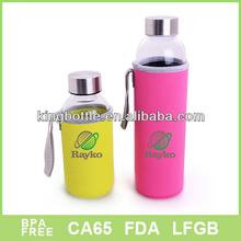 500ml glass drinking water bottles