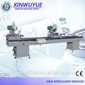 Upvc und aluminium-doppelgelenk gehrungsschnitte maschine