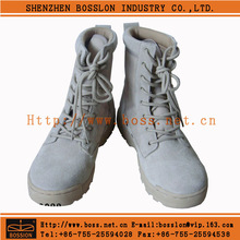 Indian army combat shoes/industrial soft sole safety boots