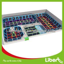 Foam Pit Gymnastic Trampoline Kid Indoor Trampoline Bed (LE.BC.064)