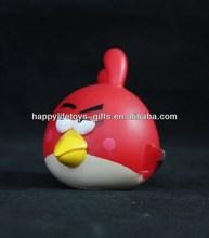 Animales de dibujos animados de la resina de angry birds figura/de juguete