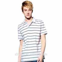 Striped polo shirt china/men polos/polo shirt buy direct from china factory