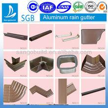 SGB Brand 5K aluminum roof gutter system