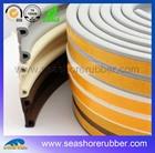 extruded sponge door P-shaped rubber seal